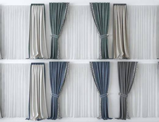 窗帘, 组合