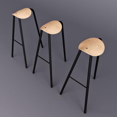 吧椅, 吧凳, 单椅