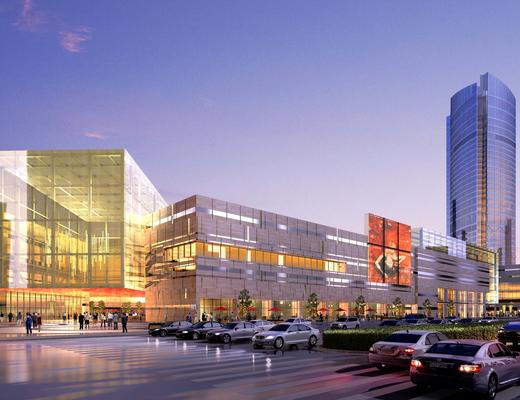 建筑, 公建, 外观, 商业, 现代
