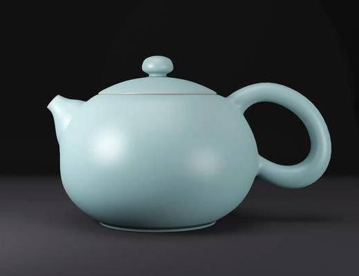 新中式, 茶壶, 单体