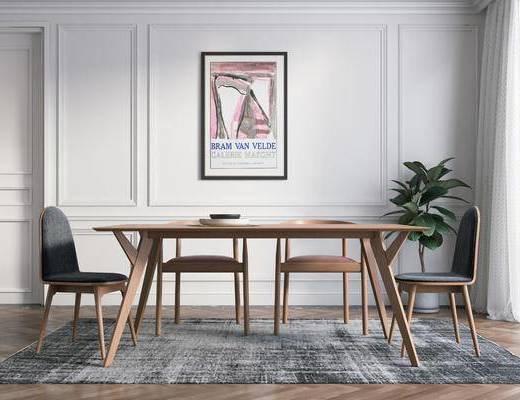 餐桌椅组合, 餐桌椅, 桌椅组合