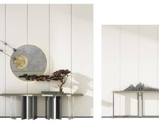 新中式, 装饰柜, 组合