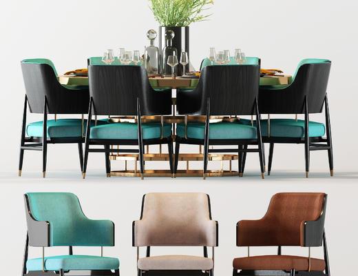 现代, 餐桌椅, 餐椅