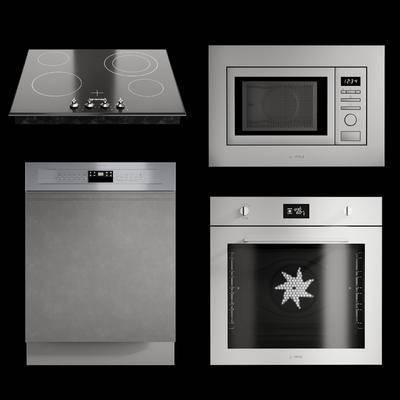 微波爐, 烤箱, 洗碗機, 爐盤