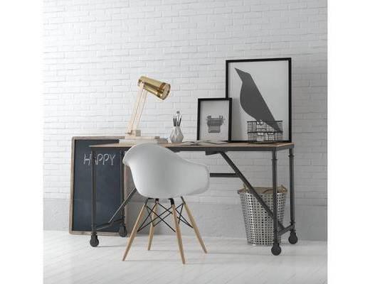 �k公桌, 椅子, �M合