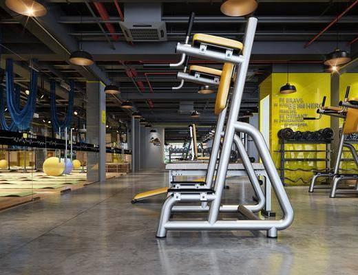 健身室, 运动器械, 跑步机