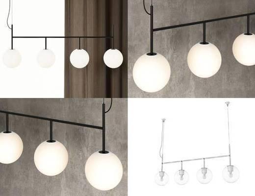 吊灯, 现代吊灯, 灯