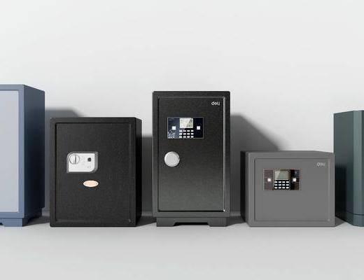 保险箱, 密码箱, 保险柜, 现代