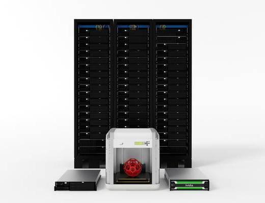 现代数码产品, 服务器, 阵列服务器, 主机, 3D打印机, 刀片服务器