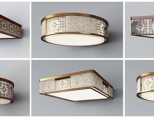 新中式, 吸顶灯组合