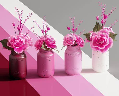 现代摆件, 现代花瓶, 花瓶摆件