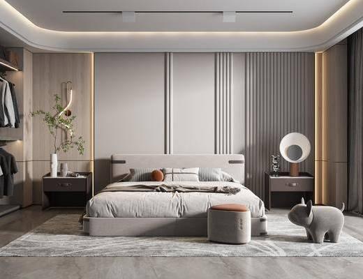 现代家居卧室