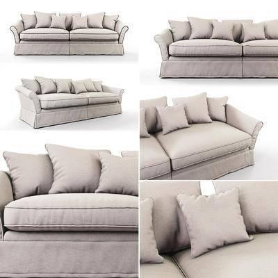 双人沙发, 现代, 沙发