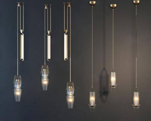金屬吊燈, 吊燈組合, 現代