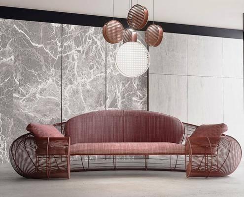 雙人沙發, 吊燈, 沙發組合