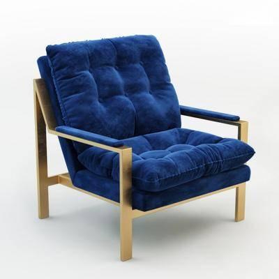 单人沙发, 现代, 休闲沙发