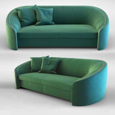 双人沙发, 多人沙发, 现代