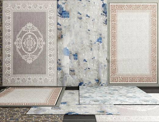 客厅, 沙发地毯, 布艺地毯