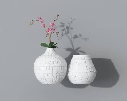 盆栽, 花瓶