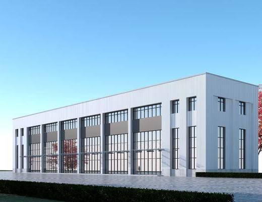 工厂, 厂房, 建筑