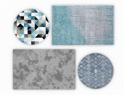 地毯组合, 现代
