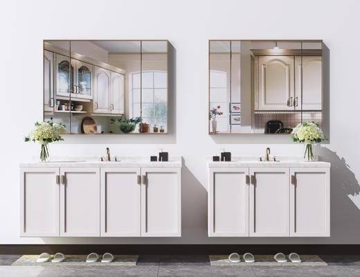 卫浴, 洗浴组合, 柜架组合