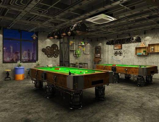 桌球室, 娱乐, 会所