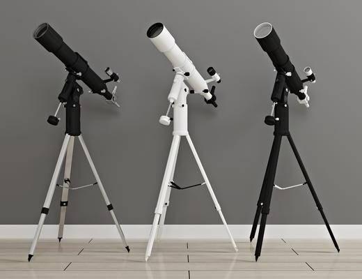 天文观星, 望远镜, 现代