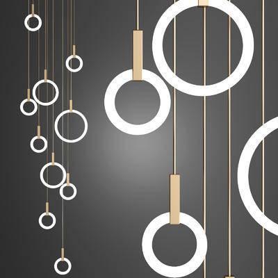 吊燈, 現代吊燈