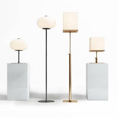 落地灯, 台灯, 金属台灯, 金属落地灯, 灯, 灯具