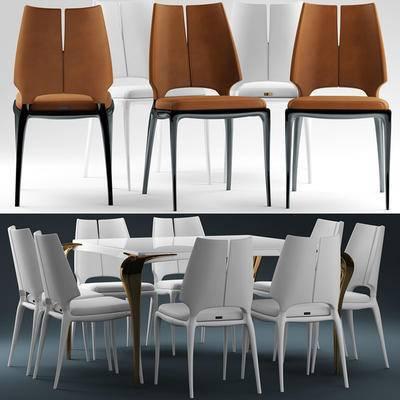 餐桌椅, 桌椅组合, 椅子, 桌子, 现代椅子, 现代