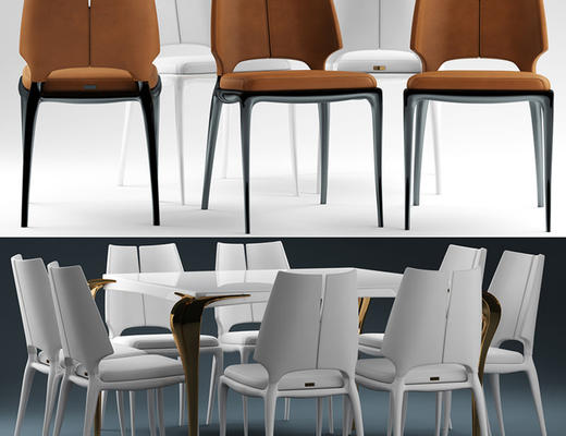 餐桌椅, 桌椅组合, 椅子, 桌子, 现代椅子