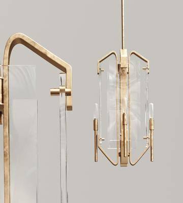新中式玻璃吊灯