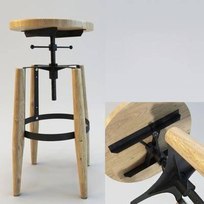 吧椅, 高脚凳, 现代