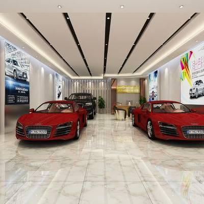 展厅, 汽车, 展会, 展柜, 展览, 展位