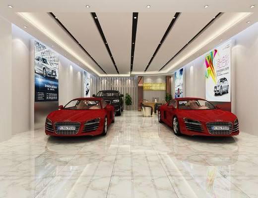 展厅, 现代展厅, 汽车