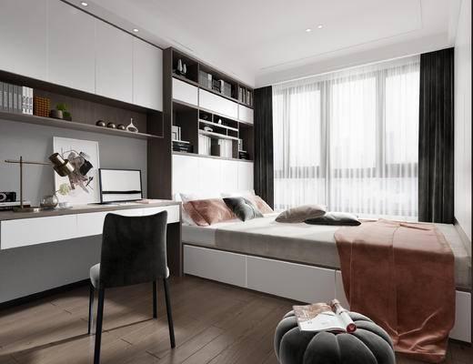 现代卧室, 榻榻米卧室