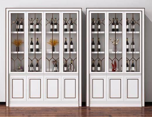 酒柜, 裝飾柜, 酒架, 柜架組合