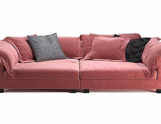 双人沙发, 沙发, 现代沙发