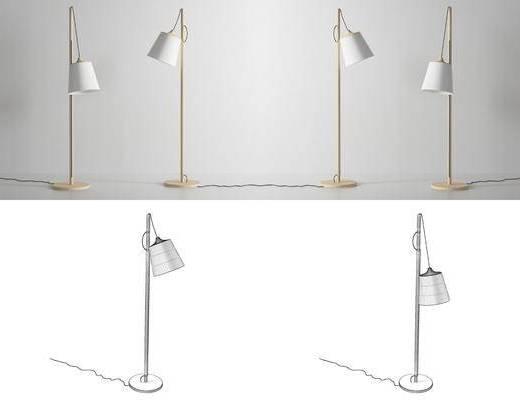 台灯, 现代台灯, 落地灯