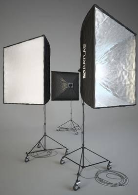 现代摄影灯补光灯组合, 现代, 补光灯