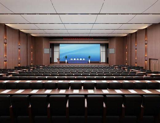 報告廳, 大會議室, 前臺接待, 桌椅組合, 現代