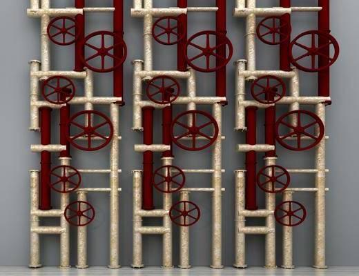 消防管道, 管道, 公共设施, 工业风消防管道, 工业风