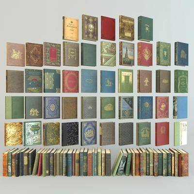 书籍, 书本, 摆件, 古典书籍, 美式书籍, 美式, 双十一