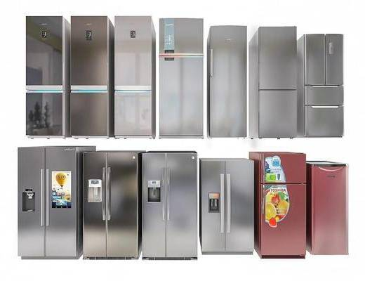 冰箱, 组合, 单体