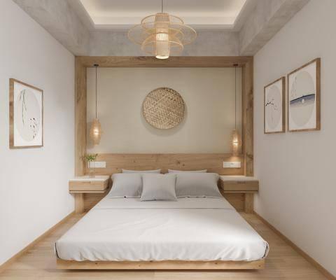 日式, 民宿, 客房, 家装