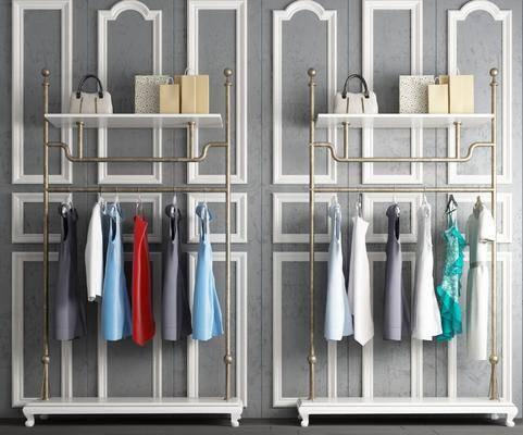 衣架, 衣柜, 服饰, 现代