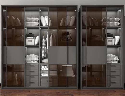 装饰柜, 置物柜, 衣柜