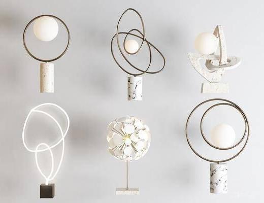 现代台灯, 台灯