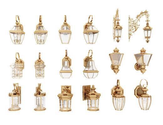户外壁灯, 户外灯, 灯具, 灯饰